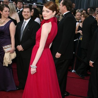 Emma Stone in 84th Annual Academy Awards - Arrivals