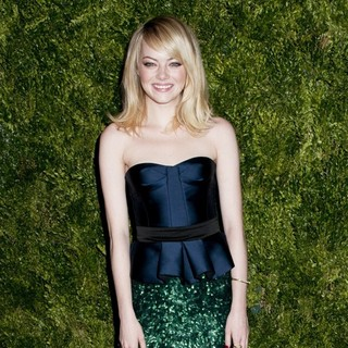Emma Stone in CFDA-Vogue Fashion Fund Awards