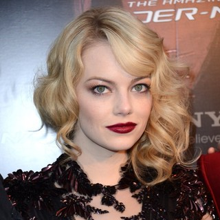 Emma Stone in French Premiere of The Amazing Spider-Man - Arrivals