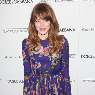 Emma Stone in New York Premiere of Magic in the Moonlight - Arrivals