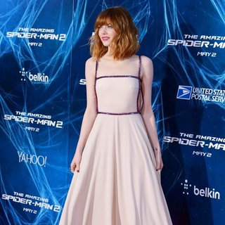 Emma Stone - New York Premiere of The Amazing Spider-Man 2 - Red Carpet Arrivals
