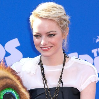 Emma Stone in The Croods Premiere - Arrivals