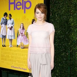 Emma Stone in World Premiere of The Help