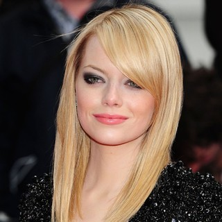 Emma Stone in The Premiere of The Amazing Spider-Man