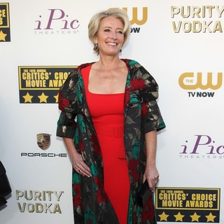 Emma Thompson in The 19th Annual Critics' Choice Awards