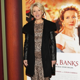 Emma Thompson in Saving Mr. Banks Los Angeles Premiere