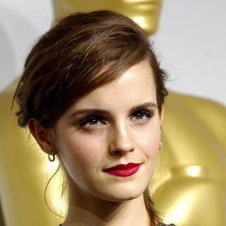 Emma Watson in The 86th Annual Oscars - Press Room