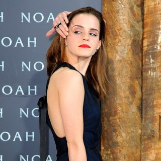 Emma Watson in German Premiere of Noah