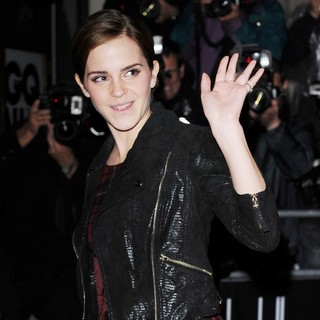 Emma Watson in GQ Men of The Year Awards 2011 - Arrivals