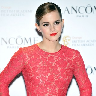 Emma Watson in Lancome Pre-BAFTA Cocktail Party - Arrivals