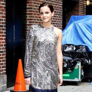 Emma Watson in The Late Show with David Letterman - Arrivals