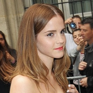 Emma Watson in Paris Fashion Week Haute Couture Fall-Winter 2014-2015 - Dior - Outside Arrivals