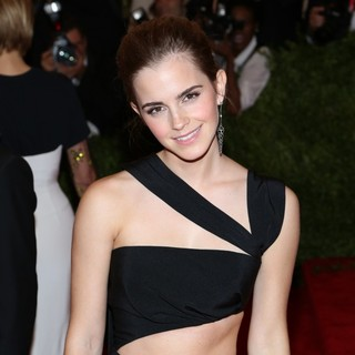 Emma Watson in PUNK: Chaos to Couture Costume Institute Gala