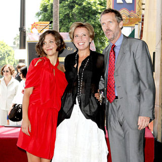 Maggie Gyllenhaal, Emma Thompson, Hugh Laurie in Emma Thompson Is Honoured with The 2,416th Star on The Hollywood Walk of Fame