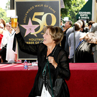 Emma Thompson in Emma Thompson Is Honoured with The 2,416th Star on The Hollywood Walk of Fame