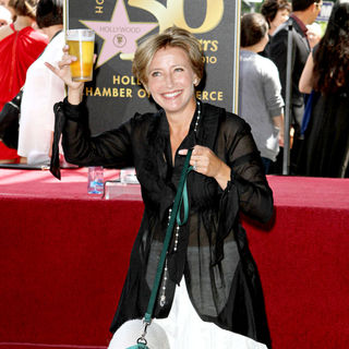 Emma Thompson Is Honoured with The 2,416th Star on The Hollywood Walk of Fame
