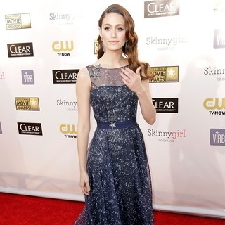 Emmy Rossum in 18th Annual Critics' Choice Movie Awards