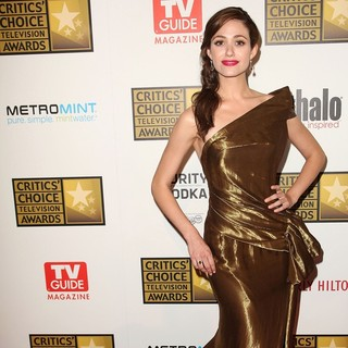 Emmy Rossum in 2012 Critics' Choice TV Awards - Arrivals
