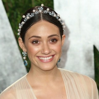 Emmy Rossum in 2013 Vanity Fair Oscar Party - Arrivals