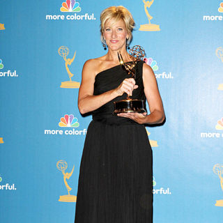 Edie Falco in The 62nd Annual Primetime Emmy Awards - Press Room