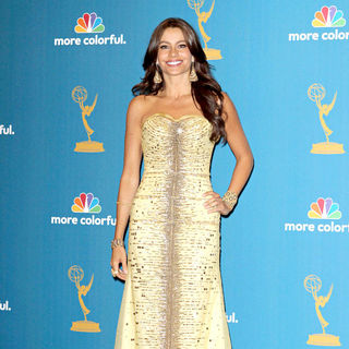 Sofia Vergara in The 62nd Annual Primetime Emmy Awards - Press Room