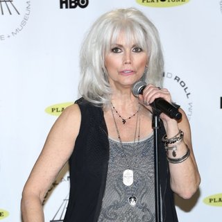 Emmylou Harris in 29th Annual Rock and Roll Hall of Fame Induction Ceremony