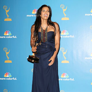 Padma Lakshmi in The 62nd Annual Primetime Emmy Awards - Press Room