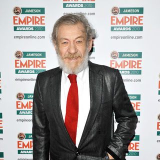 Ian McKellen in The Empire Film Awards 2010