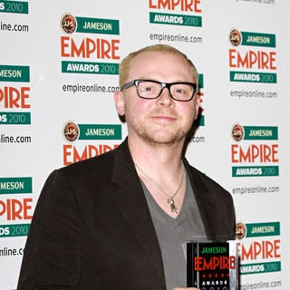 Simon Pegg in The Empire Film Awards 2010 - Press Room