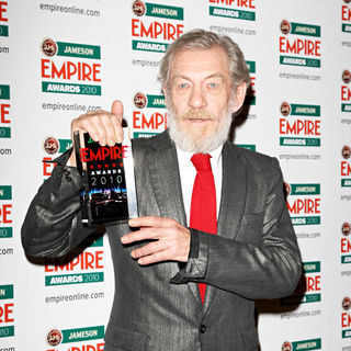 Ian McKellen in The Empire Film Awards 2010 - Press Room