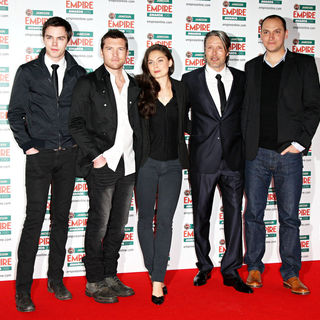 Nicholas Hoult, Sam Worthington, Alexa Davalos, Mads Mikkelsen, Louis Leterrier in The Empire Film Awards 2010