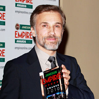 Christoph Waltz in The Empire Film Awards 2010 - Press Room