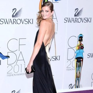 Eniko Mahalik in The 2011 CFDA Fashion Awards