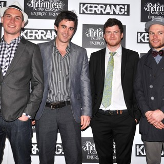 Enter Shikari in Kerrang! Awards 2012 - Arrivals