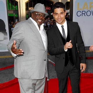Cedric the Entertainer, Wilmer Valderrama in Larry Crowne Los Angeles Premiere