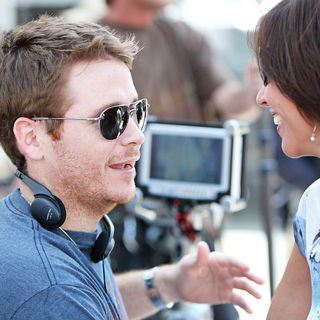 Kevin Connolly in On The Film Set of HBO's 'Entourage' Filming