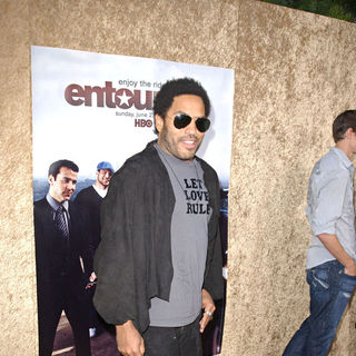 Lenny Kravitz in Los Angeles Premiere of The HBO Original Series 'Entourage' - Arrivals
