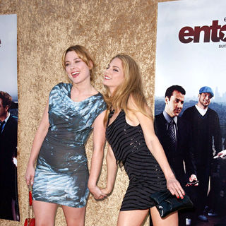 Alexandra Breckenridge, Kelly Kruger in Los Angeles Premiere of The HBO Original Series 'Entourage' - Arrivals