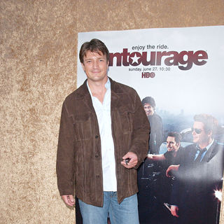 Nathan Fillion in Los Angeles Premiere of The HBO Original Series 'Entourage' - Arrivals