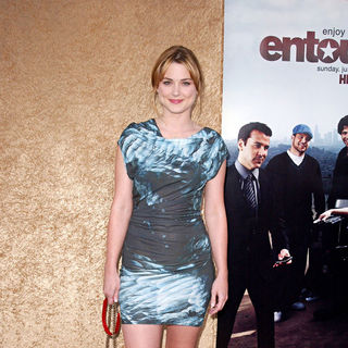 Alexandra Breckenridge in Los Angeles Premiere of The HBO Original Series 'Entourage' - Arrivals