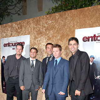 Kevin Dillon, Jerry Ferrara, Jeremy Piven, Kevin Connolly, Adrian Grenier in Los Angeles Premiere of The HBO Original Series 'Entourage' - Arrivals