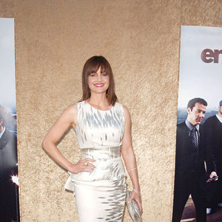 Carla Gugino in Los Angeles Premiere of The HBO Original Series 'Entourage' - Arrivals