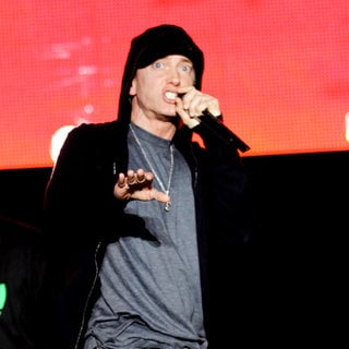 Eminem in Eminem Performing at The 'Epicenter Twenty Ten'