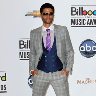 Eric Benet in 2012 Billboard Music Award - Press Room