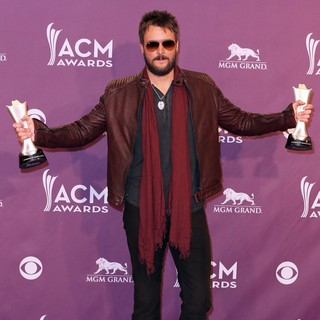 Eric Church in 48th Annual ACM Awards - Press Room