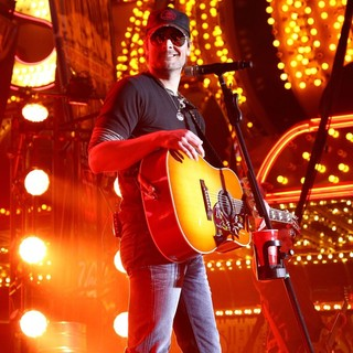 Eric Church in 2012 ACM Weekend on Fremont Street Experience Saturday Concerts