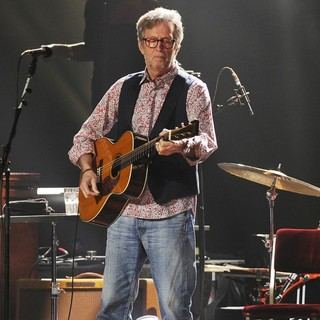Eric Clapton in Eric Clapton Performs on His 68th Birthday at Hard Rock Live!