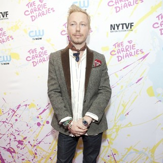 Eric Damon in The Carrie Diaries Premiere