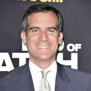 Eric Garcetti in Los Angeles Premiere of End of Watch