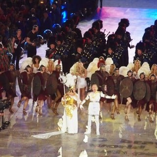 Eric Idle in London 2012 Olympic Games - Closing Ceremony